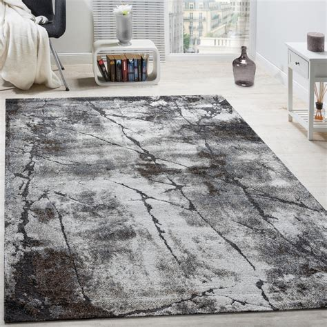 designer rug living room abstract 3d used effect - Teppiche Grau