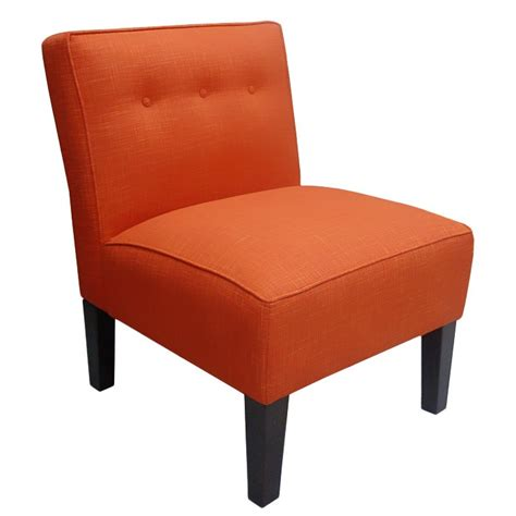 Orange Accent Chair Orange Pompano Accent Chair Occasional Chairs Pinterest