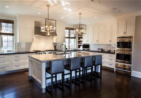transitional white kitchen traditional transitional coastal interior design ideas