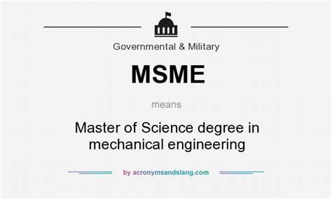 masters degree in engineering msme master of science degree in mechanical engineering