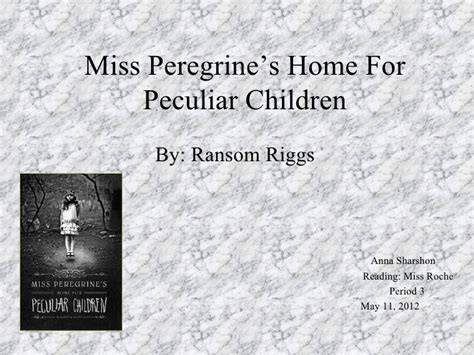 miss peregrine s home for peculiar children series 1 miss peregrine s home for peculiar children sharshon