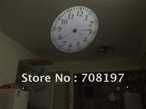 Alarm Clock Projects Time On Ceiling by Projection Wall Clock Projector Ceiling Clock Jpg