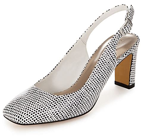 marks and spencer m s collection square toe slingback