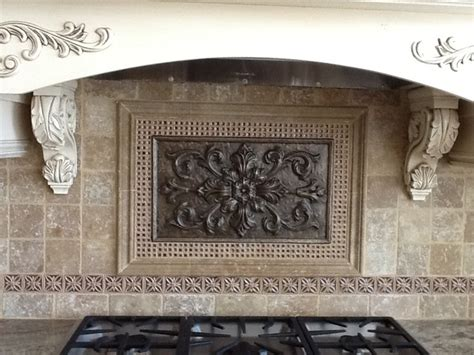 kitchen backsplash medallions kitchen backsplash traditional other metro by