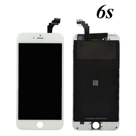 apple iphone  white  lcd touch screen digitizer