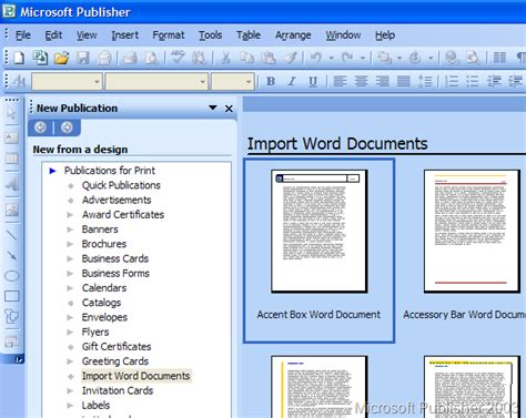 Why Microsoft Publisher Is A Short Document Authoring Solution Roughly Everything About Flare Microsoft Publisher Website Templates