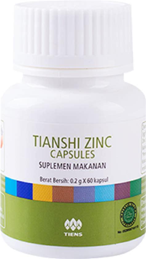 Suplemen Zinc Tiens jual produk tiens zinc kapsul tiens kapsul hormon tianshi