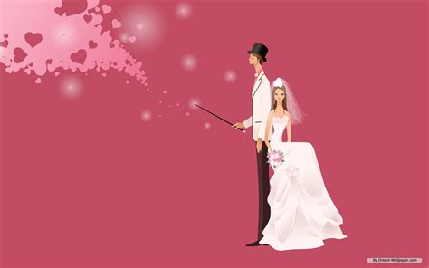 Wedding Animation Hd by Marriage Wallpaper Background Wallpapersafari