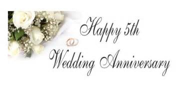 5th wedding anniversary wishes quotes and messages happy anniversary wedding