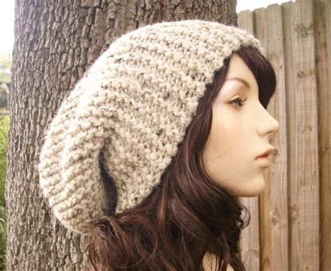 knitting pattern slouchy hat slouch hat knit pattern free patterns