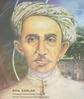 biografi kh ahmad dahlan pahlawan pendiri muhammadiyah