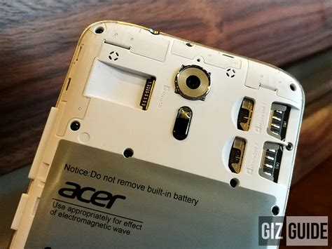 Acer Liquid Zest Plus Z628 Back Casing Design 073 acer liquid zest plus unboxing and impressions big battery and more
