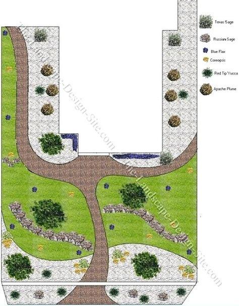 free xeriscape design plans front yard design plans eatatjacknjills com