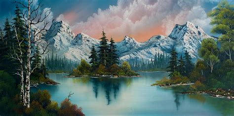 bob ross paintings auction original bob ross paintings for sale autumns glow painting