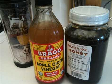 Detox Water For Low Blood Pressure by Honey Apple Cider Vinegar Powerful Combination To
