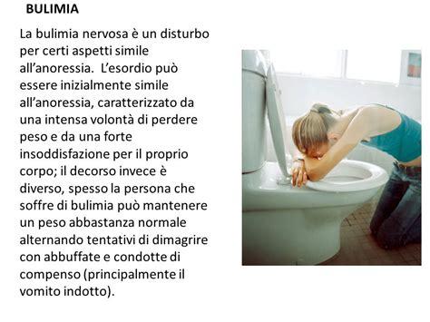 test bulimia anoressia bulimia disordini alimentari ppt