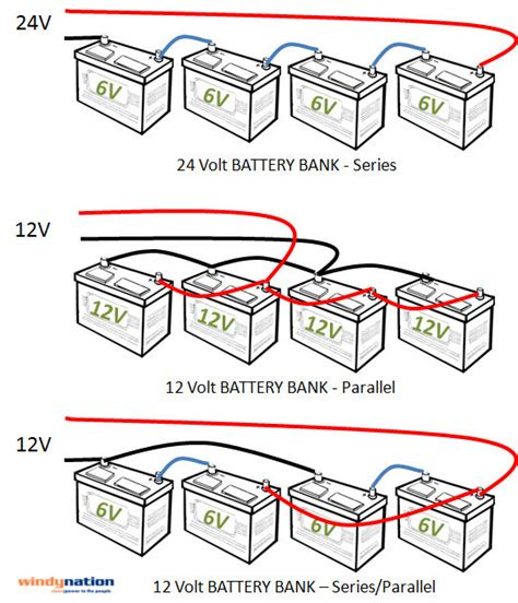 parallel battery wiring diagram 31 wiring diagram images