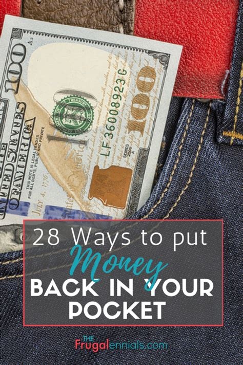 10 Ways To Put Some Back Into Your Relationship by 28 Ways To Put Money Back Into Your Pocket The Frugalennial