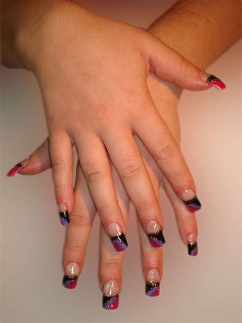 art design hair and nails creative nail art designs for extension natural nails