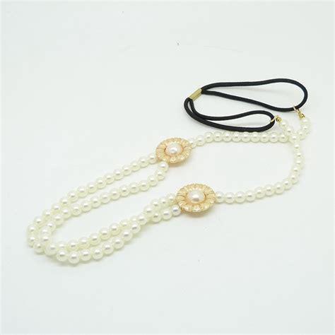 Pearl Flower Fashion fashion pearl flower stretch metal hairpin hairpin