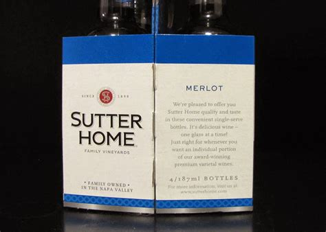 smells like food in here sutter home merlot