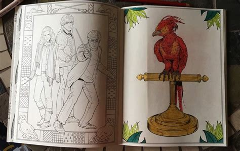 harry potter coloring book finished pages do you like to color harry potter amino