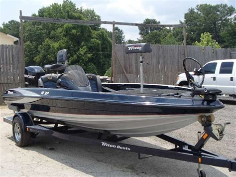 used triton bass boats for sale 2008 used triton boats 18x2 bass boat for sale 18 995