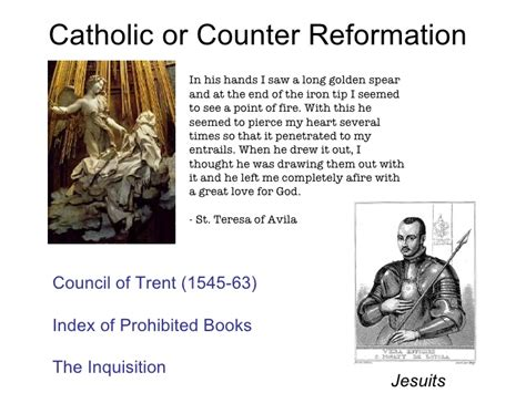 Counter reformation marriage