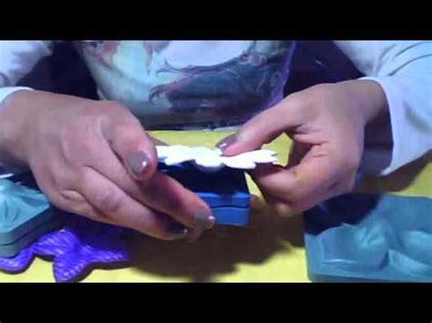 como hacer flores de goma eva moldes para hacer flores en goma eva youtube