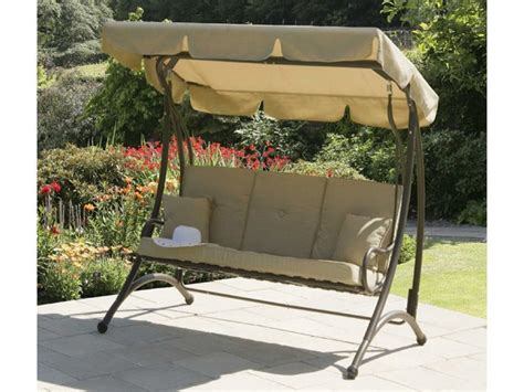 3 seat swing with canopy 3 seater garden swing seat canopy garden ftempo