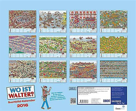 Find Walter wo ist walter suchbild kalender 2016 kalender bei