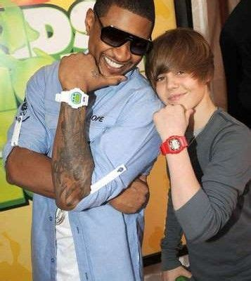 usher tattoos usher rockin his sleeve with justin bieber dudes with