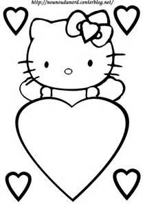 Coloriage Coeurs St Valentin Page 2 Coloriage Hello Kitty Noel Imprimer Gratuit Voir Le Dessin L