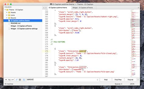 sublime text 3 select theme el capitan theme by iccir