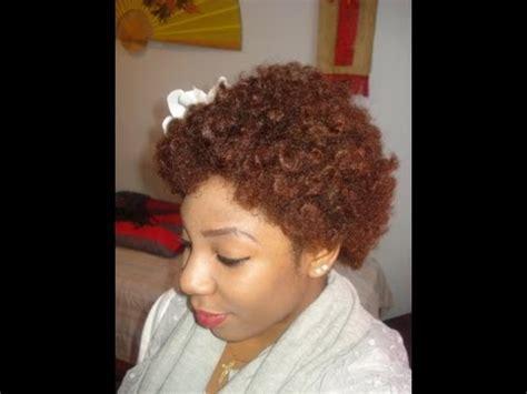 bantu knot out on short natural hair natural hair bantu knot out youtube
