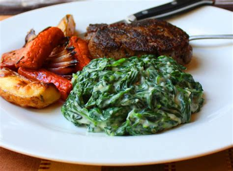 steak house sides food wishes video recipes creamed spinach king of the steakhouse side dishes