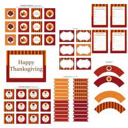 free printables for thanksgiving free thanksgiving party printables from cupcake express
