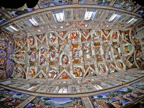 Sistine Chapel Ceiling Layout by Sistine Chapel Ceiling Hillfamily Dot Net