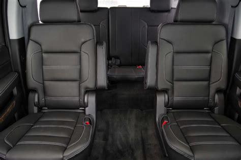 gmc yukon interior 2016 2015 gmc yukon xl rear interior seats elite limo