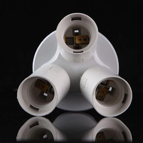3 Bulb Ceiling Light Ceiling Light Socket 2 3 4 In 1 E27 Base Light L Bulb Adapter Holder Splitter Ebay
