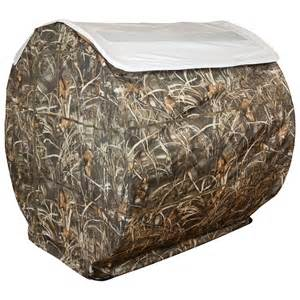 hay bale blind snow roof for beavertail 174 hay bale blind 581636