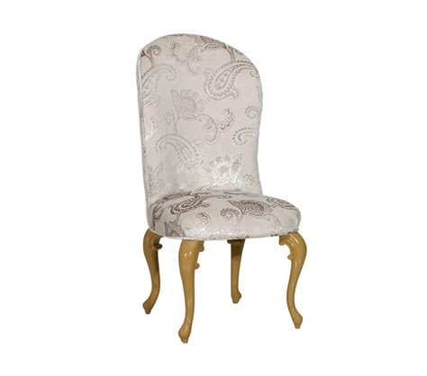 Light Grey Dining Chairs Dreamfurniture Regency Style Light Grey Fabric Dining Chair