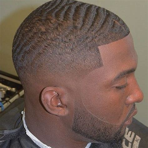 mens tidal wave hair cut how to get 360 waves for black men low bald fade bald