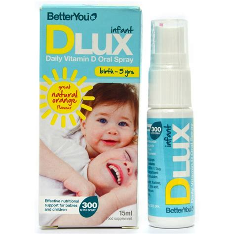 vitamin d supplement for infants betteryou dlux infant vitamin d spray for babies and