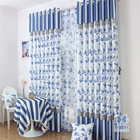 chinese curtains chinese style classical style curtain blue and white