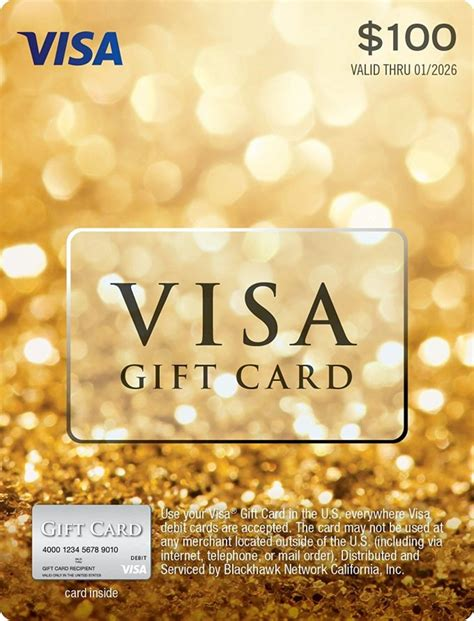 How Much Does A Visa Gift Card Cost - how much does a 100 visa gift card cost infocard co