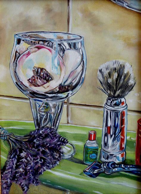 Muschel Themen Badezimmer by Bild Glas Muschel Bad Badezimmer Ulis Bei Kunstnet