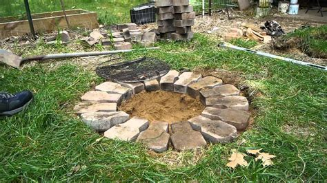 how to make firepit how to make a cheap pit pit design ideas