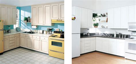 cabinet refacing amp installation services sears home services