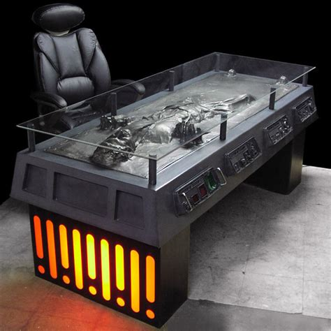 han frozen in carbonite desk the green
